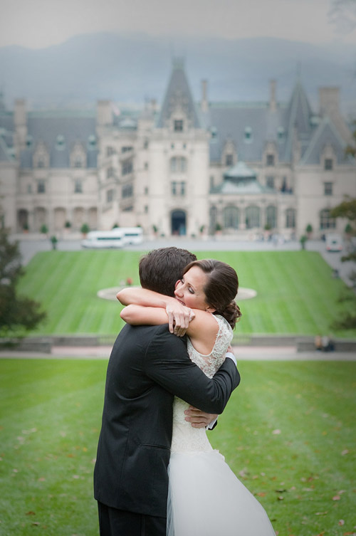 Biltmore Estate, Asheville, North Carolina real wedding, image by Woodward + Rick