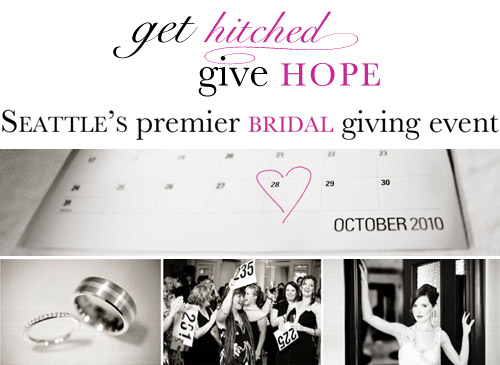 Seattle's Get Hitched Give Hope wedding fund raising event