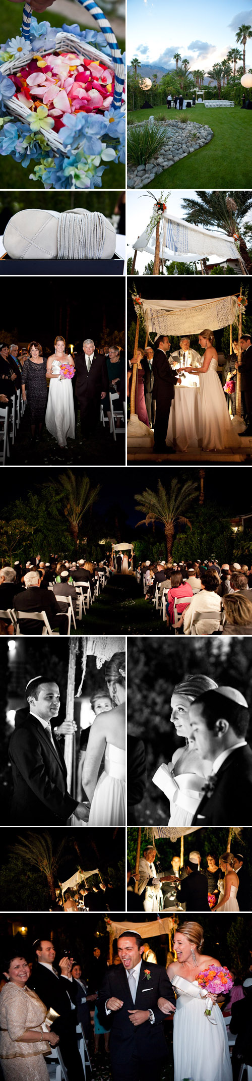 Palm Springs real wedding at Hotel Riviera, photos by Mary McHenry Photography