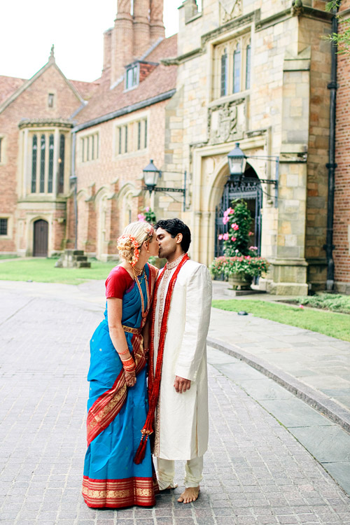 Colorful Hindu Real Wedding At Meadbrook Hall In Rochester Michigan Photos By Harrison Studio