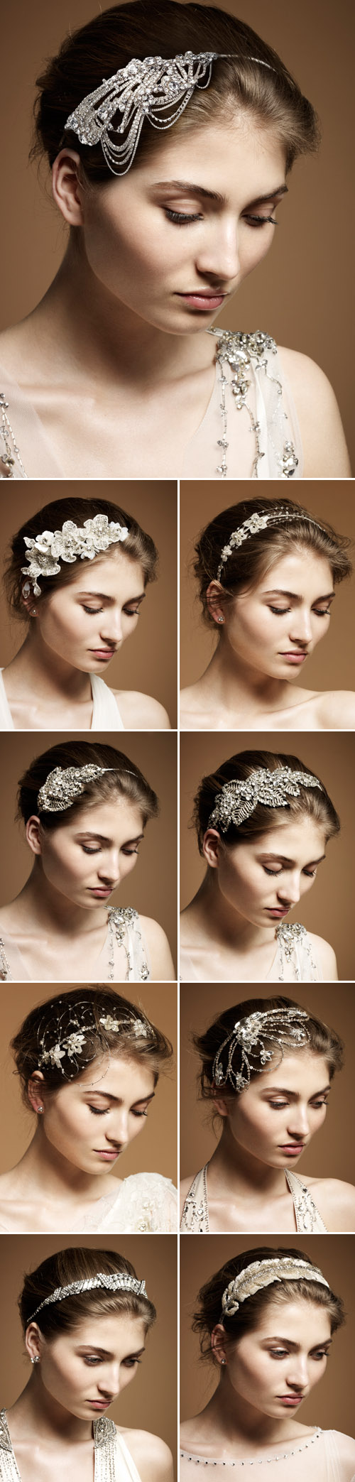 vintage inspired wedding hair accessories from jenny Packham
