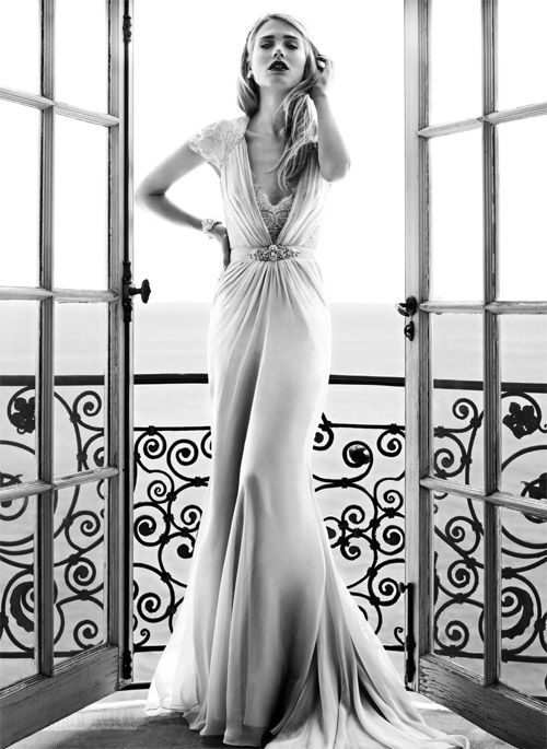 Jenny Packham Spring Summer 2012 Wedding Dress Collection Vintage Inspired Glamorous Dresses