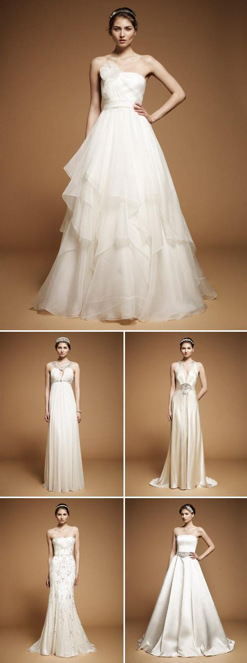 Jenny Packham Spring Summer 2012 Wedding Dress Accessories