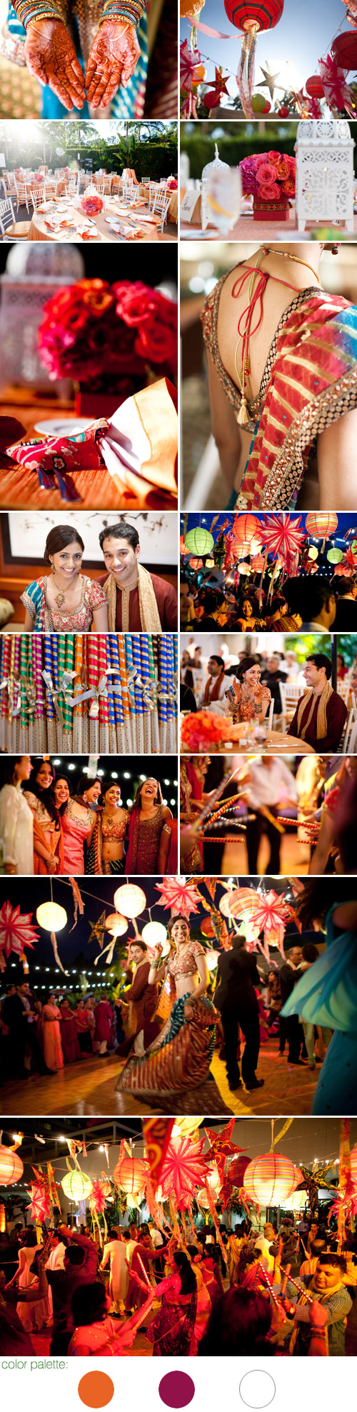 beautiful Indian real wedding at The Resort at Pelican Hill Newport Coast, California, coordinated by Details, Details, Photos by John and Joseph Photography