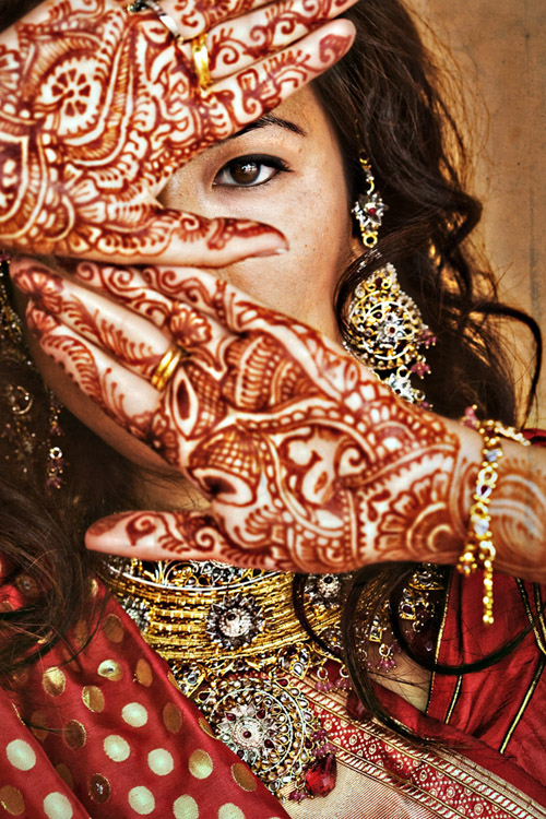 beautiful Indian bride wedding photo by Joy Marie Photography