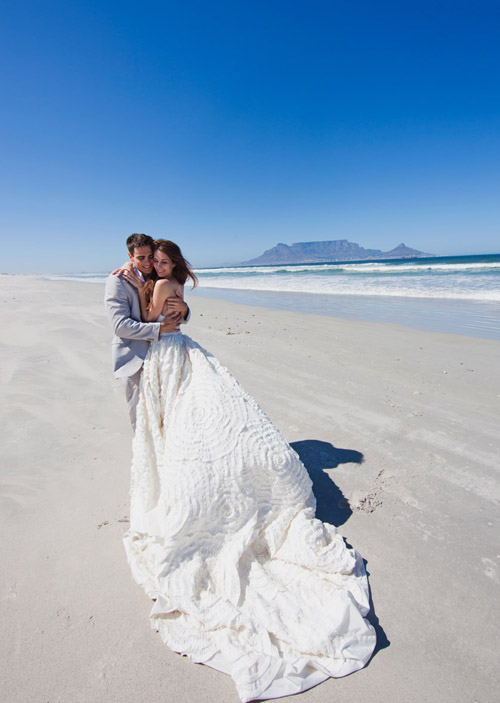 South Africa day-after wedding photo shoot by Rensche Mari