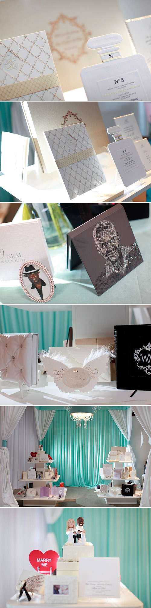 Lehr and Black celebrity wedding invitations at Mindy Weiss' Most Ridiculous Wedding Event Ever 2!