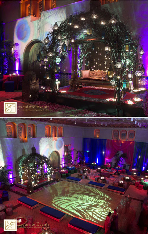 Nikki Khan of Exquisite Events, designer of spectacular Indian weddings and events