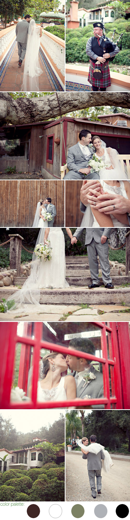 nature-inspired family real wedding at Rancho Las Lomas, Silverado, CA, photography by Photos by Taryn