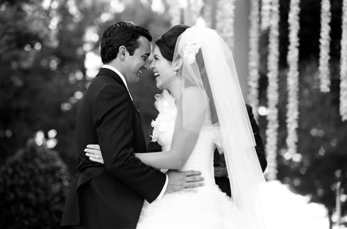 classic southern california real wedding coordinated by Mindy Weiss, photos by Yvette Roman Photography