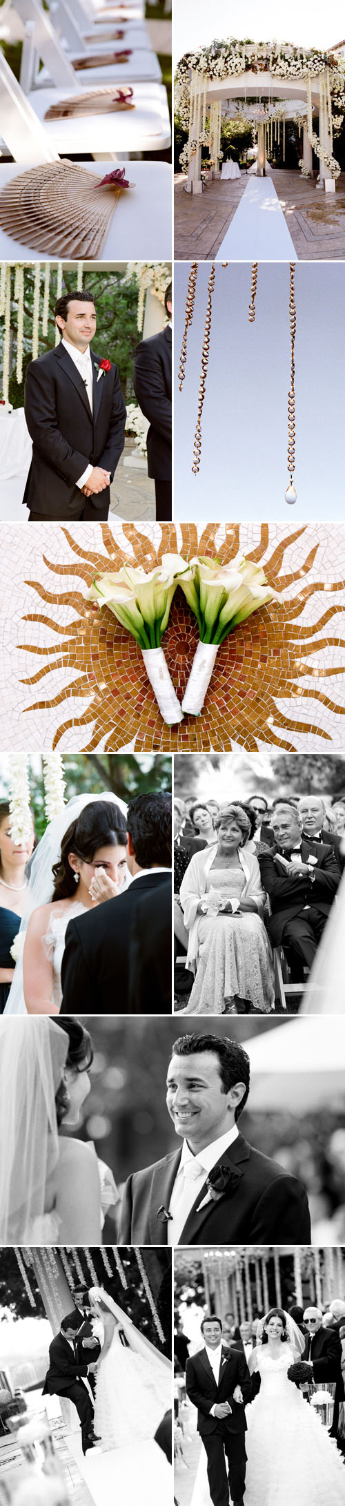 classic southern california real wedding ceremony at St. Regis Monarch Beach, coordinated by Mindy Weiss, photos by Yvette Roman Photography