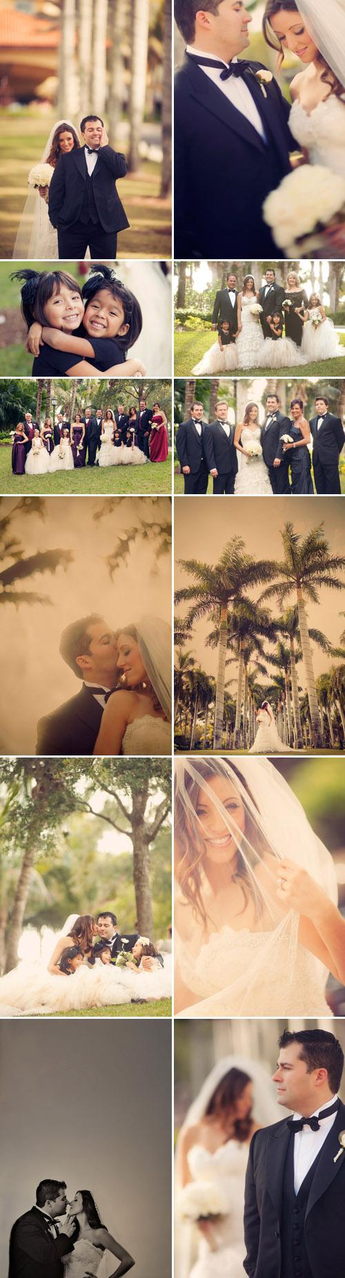 romantic Naples, Florida real wedding at The Ritz Carlton, photos by Jeffrey and Julia Woods