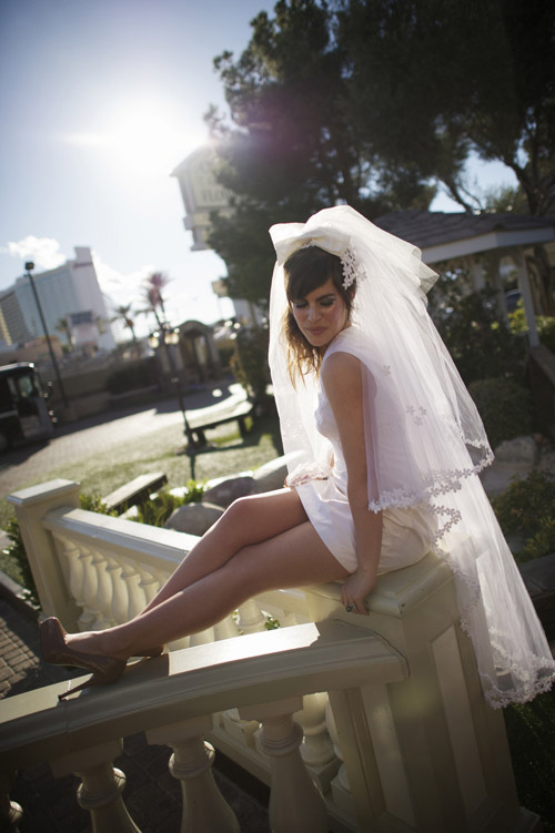 Bridal fashion photo shoot in Las Vegas to benefit Thirst Relief International, photo by Mike Colon