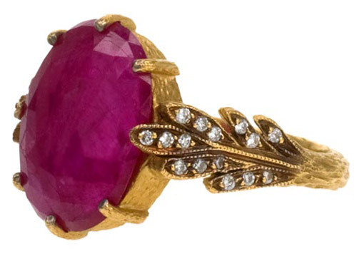 alternative wedding rings with colored stones by cathy waterman available at wwwtwistonline
