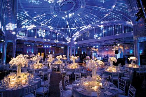 amazing event lighting design by Bentley Meeker at The New York Public Library from his Light & Wedding Lighting Designer Bentley Meeker | Junebug Weddings azcodes.com