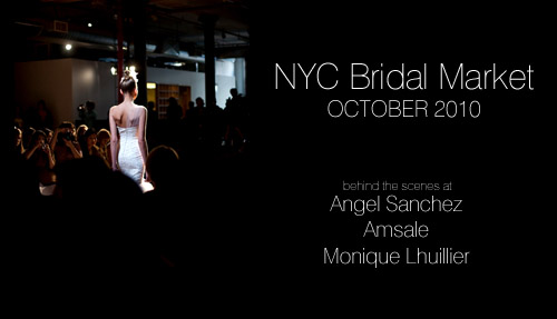 Junebug's all new Bridal Market Fashion Report!Featuring the fashion shows of Monique Lhuillier, Amsale and Angel Sanchez, photography by John and Joseph Photography and Jane Lee Photography