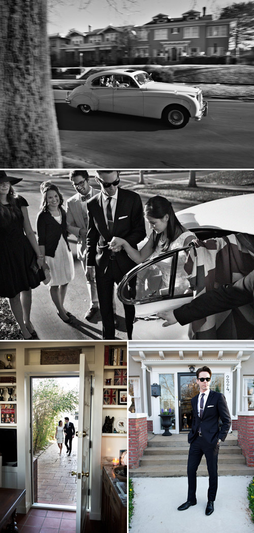 Sophisticated British mod engagement party inspiration photo shoot by Todd Scott Ballje of Beautiful Day Images and Lindsay Gibson of Gibson Events