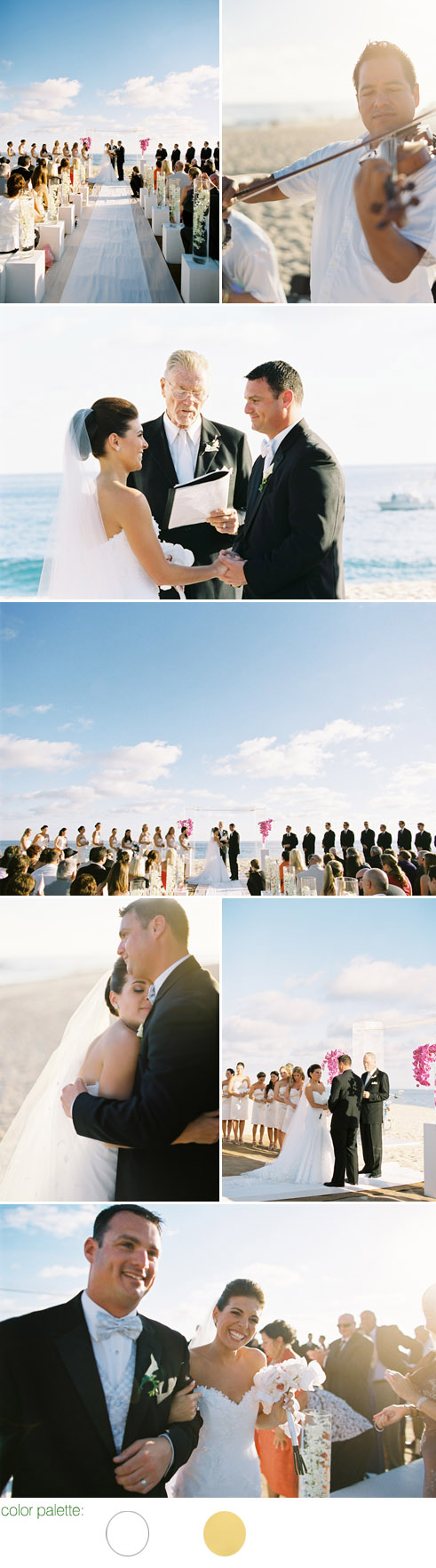 elegant destination wedding at Villa Bellissima Pedregal, Cabo San Lucas, Mexico - photos by Scott Andrew Studio