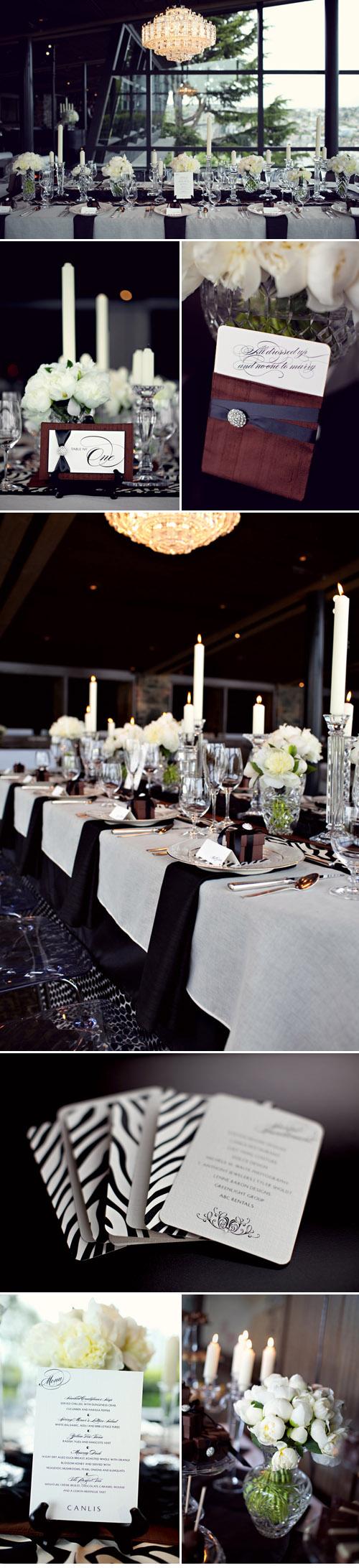 swanky and elegant wedding style at canlis junebug weddings. Black Bedroom Furniture Sets. Home Design Ideas