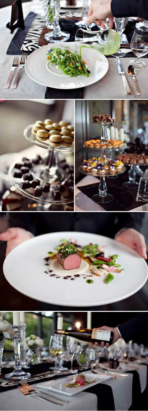 swanky, elegant and glamorous style at Canlis Restaurant, Seattle