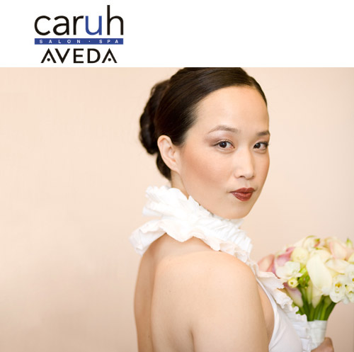 Caruh Aveda Salon Seattle bridal hair and makeup