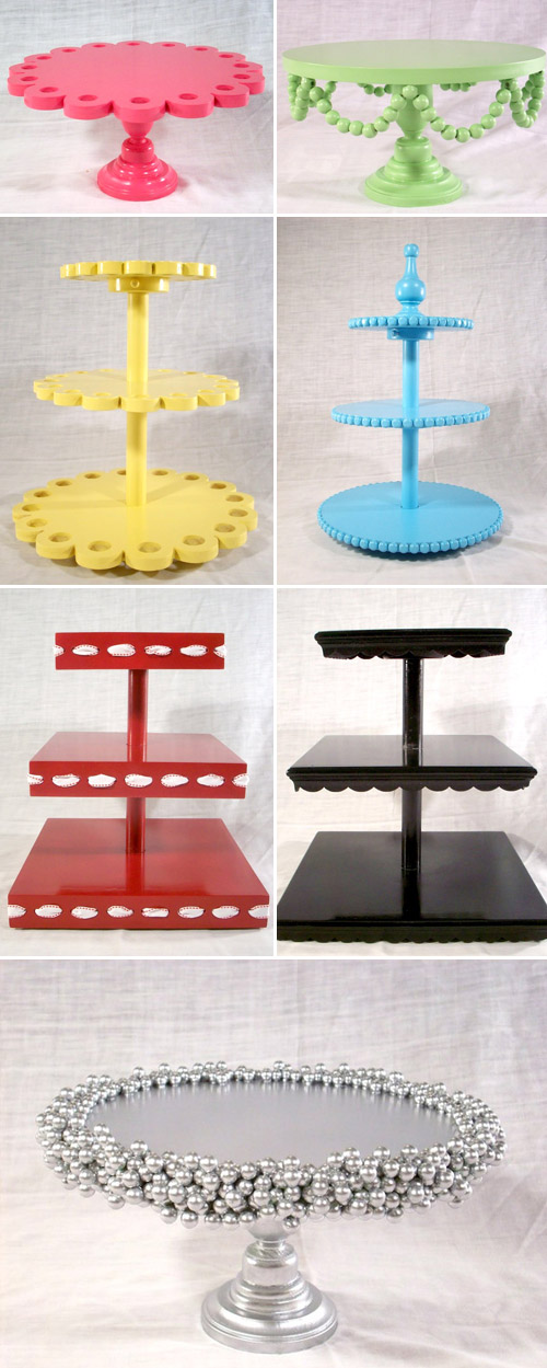 How To Make A Cake Stand Using Old Plates