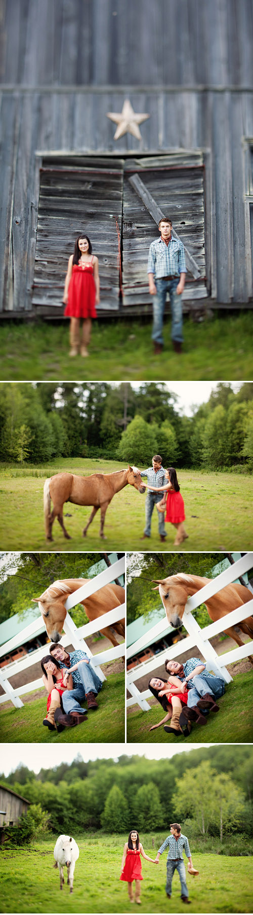country style engagement photo session from Daniel Usenko