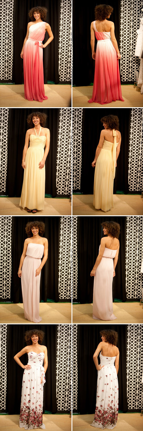 The Dessy Group bridesmaids collections during Bridal Market, photos by John and Joseph Photography