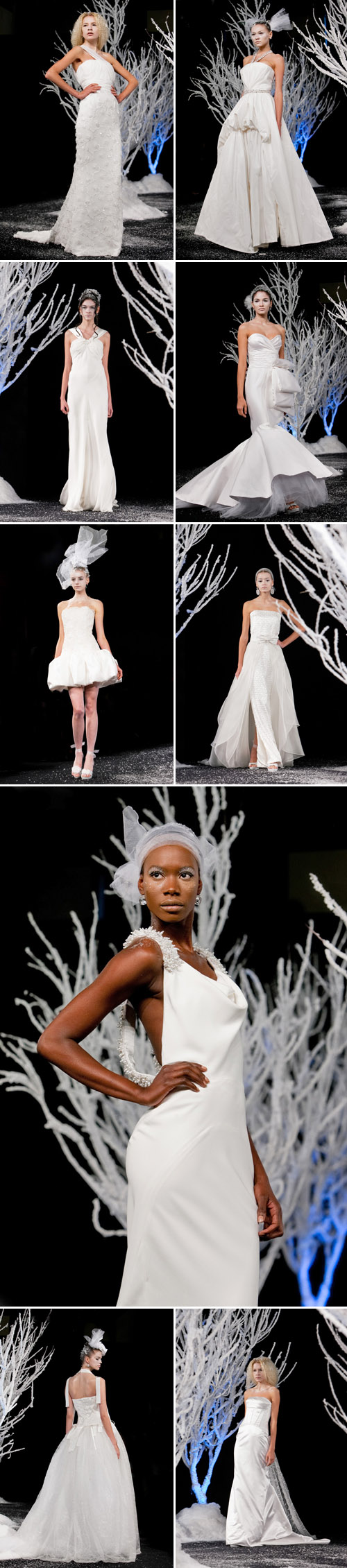 Douglas Hannant Fall 2011 wedding dress collection from NY Bridal Market, photos by John and Jospeh Photography