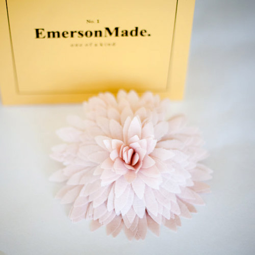 fabric wedding flower accessories, ring pillows, clutches and boutonnieres by Emerson Made