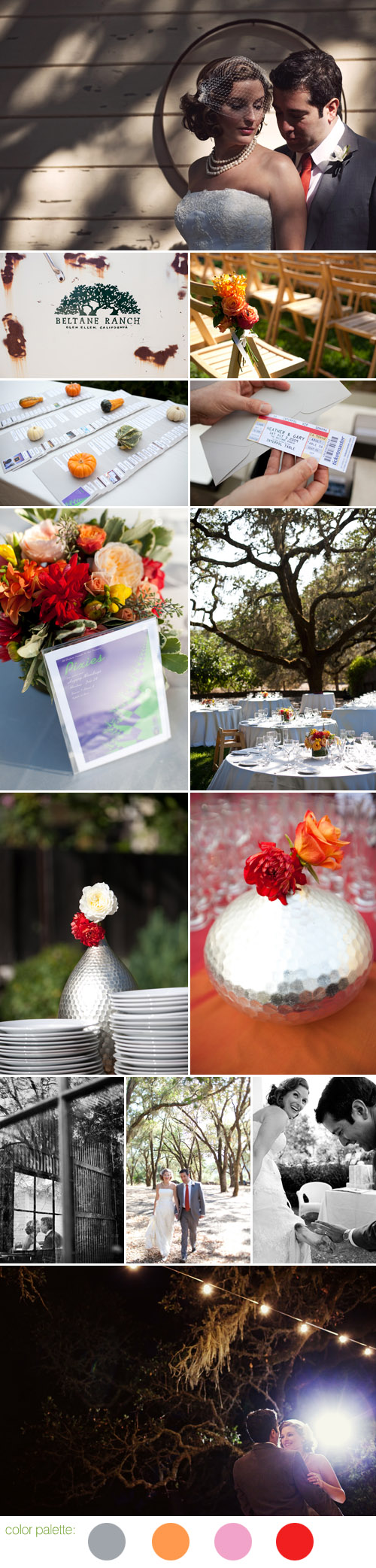 fall california wedding style inspired by music and concerts, photos by Jerry Yoon Photography