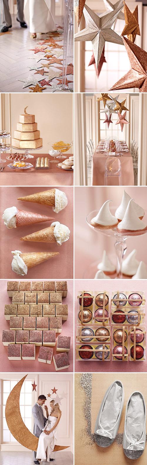 All that Glitters - from MarthaStewart.com   Junebug Weddings