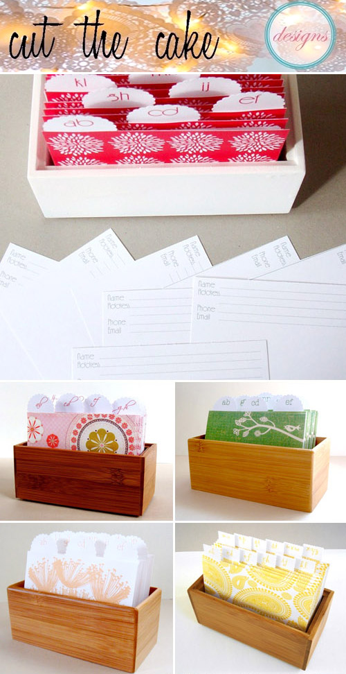 creative wedding guest books from Cut the Cake