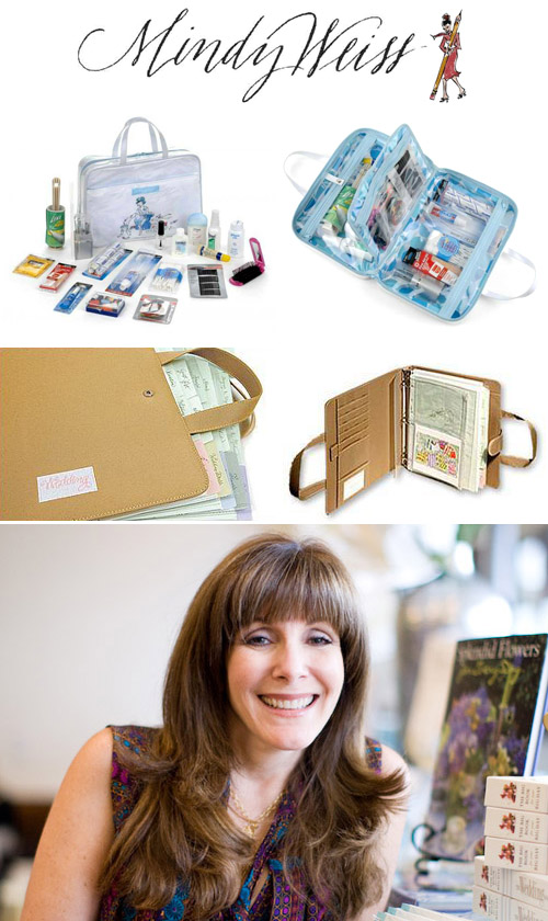 wedding planner workbook and bridal emergency kit from Mindy Weiss
