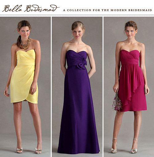 Jenny Yoo trunk show at Bella Bridesmaid Seattle