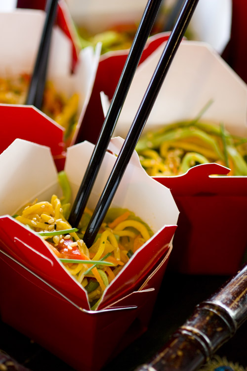 Vegetable Yakisoba Noodle Salad from Jewel Catering
