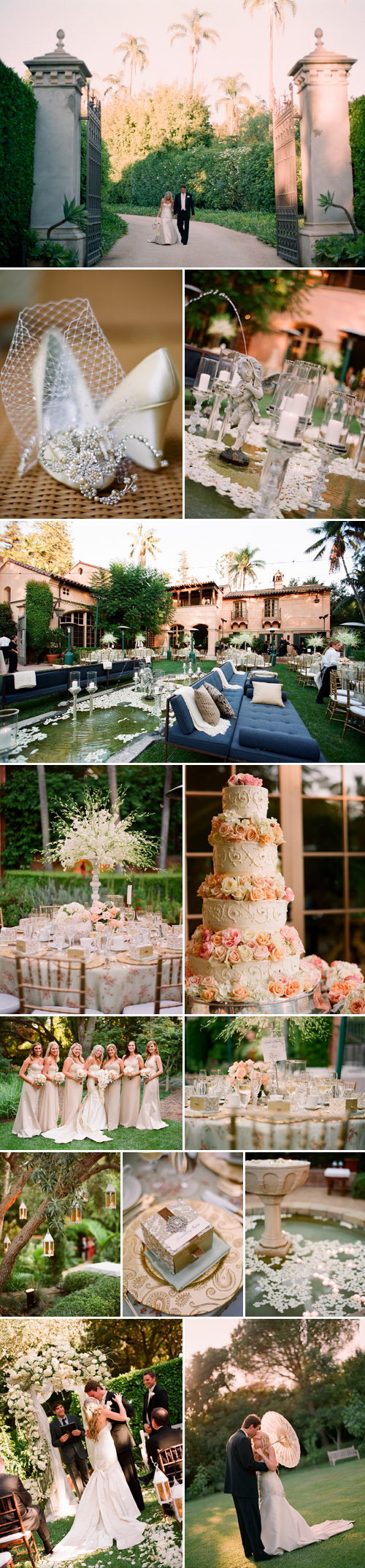 Anthropologie inspired wedding at the Hahn Estate, coordinated by Jill La Fleur, images by Megan Sorel Photography
