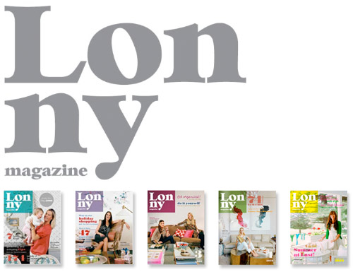 Lonny Magazine online home decor and style magazine