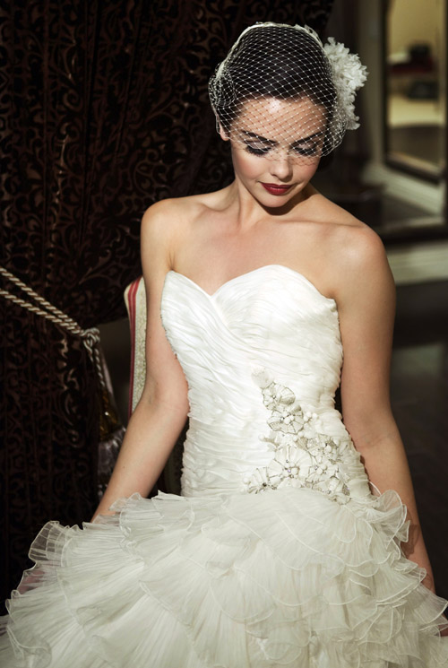 dramatic smokey eye bridal makeup by Tara Dowburd-Luftman of Makeup Therapy