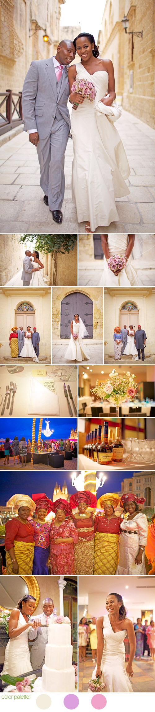 Mdina, Malta wedding at The Villa Brasserie, photos by Melissa O'Connell of Fresh In Love Photography