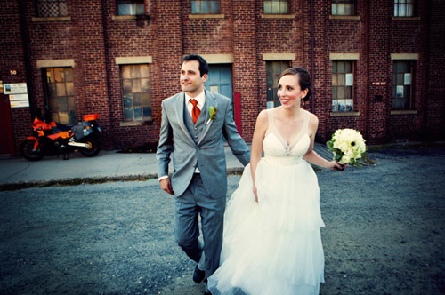 modern and colorful Avon Connecticut real wedding photos by Lime Green Photography