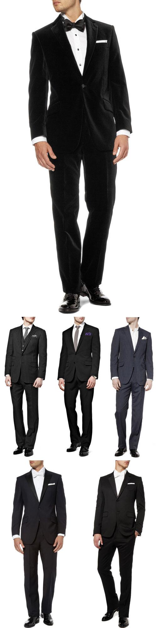 designer men's wear and wedding suites, tuxedos and accessories from Mr. Porter, Net-a-Porter.com's men's store