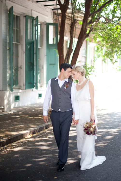 1920s Paris and New Orleans Wedding Inspiration | Junebug Weddings