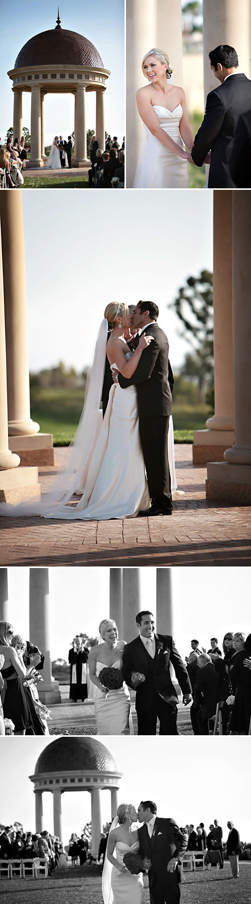 classic and elegant real wedding at The Resort at Pelican Hill, images by Jasmine Star Photography