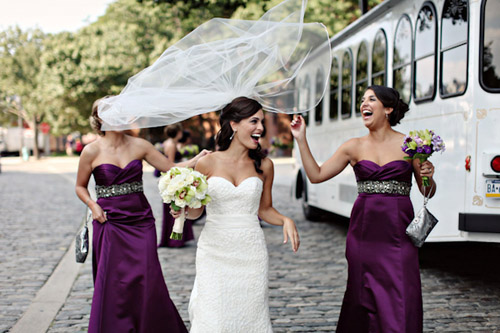 eggplant plum and purple wedding color palette junebug weddings
