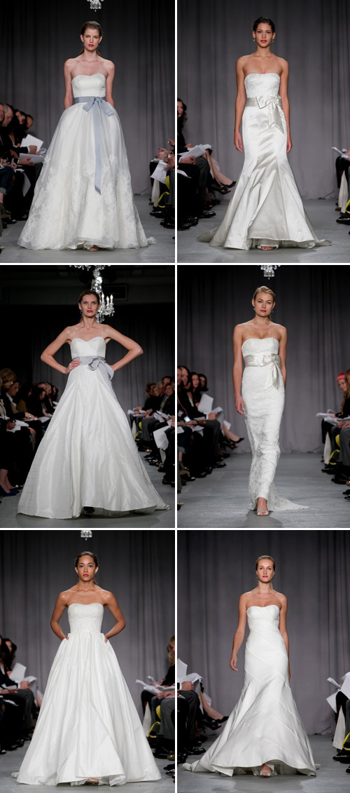 Priscilla of Boston Vineyard Collection Fall 2011, Bridal Market, photos by John and Joseph Photography