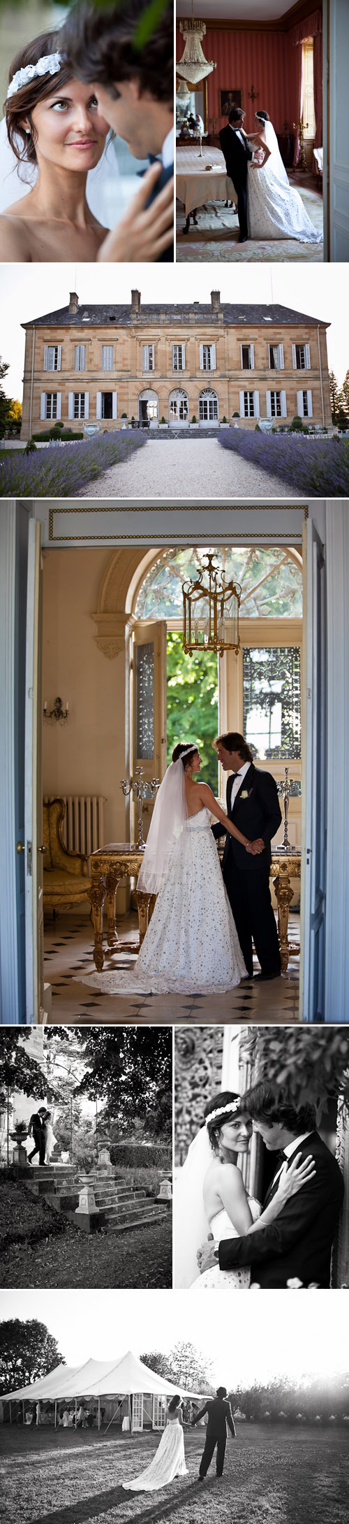 real wedding at Chateau la Durantie, Lanouaille, Dordogne, photography by One and Only Paris