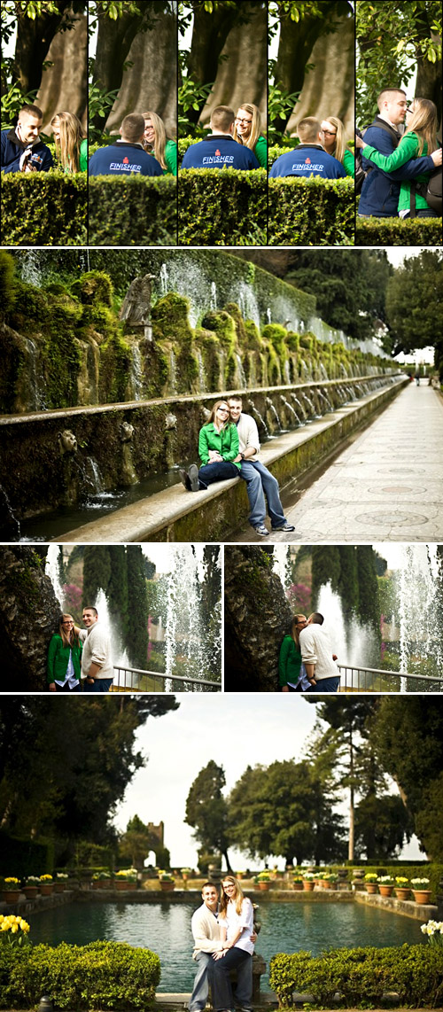 romantic real proposal in Rome, image by Rochelle Cheever