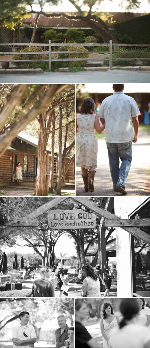 rustic texas wedding rehearsal dinner at Gruene River Grill New Braunfels, TX, photos by Table4 Weddings