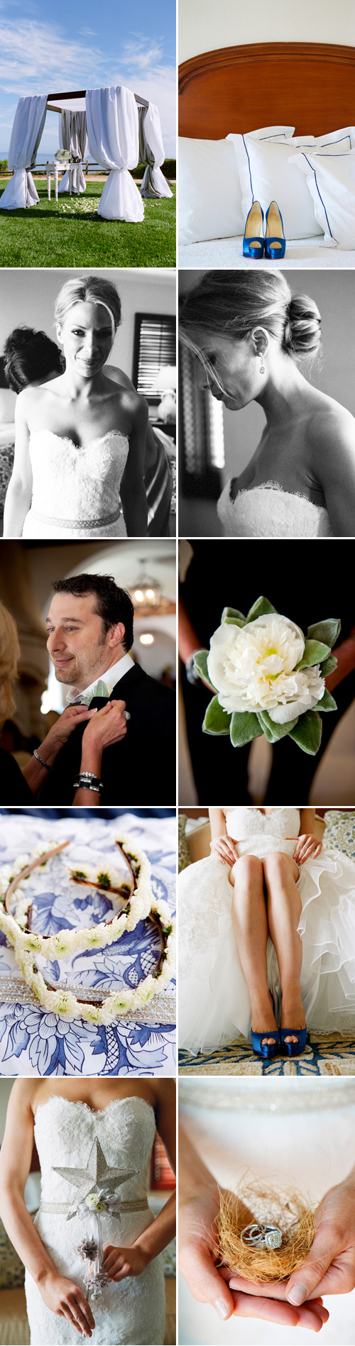Santa Barbara, California wedding at the Bacara Resort by Yvette Roman Photography and La Fete Weddings